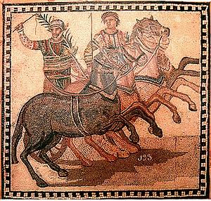 Antike Flavius Scorpus - Der berühmteste Wagenlenker Roms